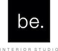 be. INTERIOR STUDIO Logo