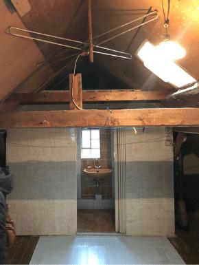 be.interiorstudio - Dach - vorher